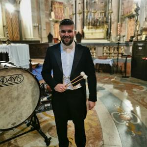 Jorge Pereira, percussionista, de Castelo de Paiva