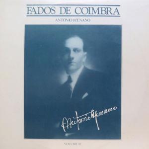 António Menano, Fados de Coimbra