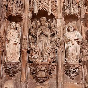 Anjos músicos da Igreja do Mosteiro de Santa Cruz de Coimbra, créditos Paulo Bernardino
