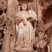 Anjo músico da Igreja do Mosteiro de Santa Cruz de Coimbra, créditos Paulo Bernardino