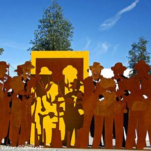Monumento ao Cante Alentejano, Cuba, ft Vítor Oliveira