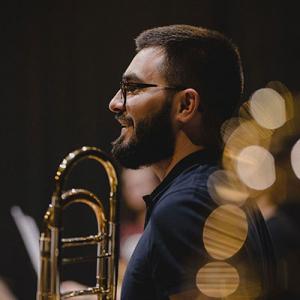 Fábio Moreira, trombonista, de Castelo de Paiva