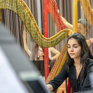 Beatriz Cortesão, harpista, da Mealhada