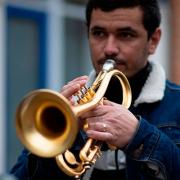 Luís Martelo, trompete, da Mealhada