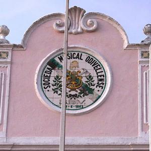 Sede da Sociedade Musical Odivelense, iconografia
