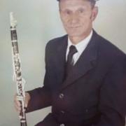 Inocêncio Barbosa, clarinete, de Paredes de Coura