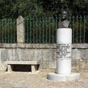 Monumento a Jaime Lopes Dias, etnógrafo, em Penamacor