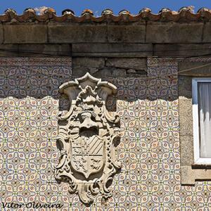 Casa onde nasceu Manassés de Lacerda, fadista, em Sabrosa