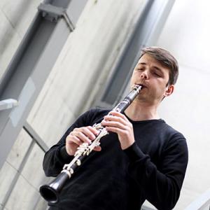 Horácio Ferreira, clarinete, de Santa Comba Dão