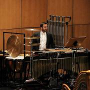 Marco Fernandes, percussionista, de Arrentela, Seixal