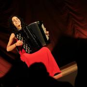 Sónia Sobral, acordeonista, de Sernancelhe