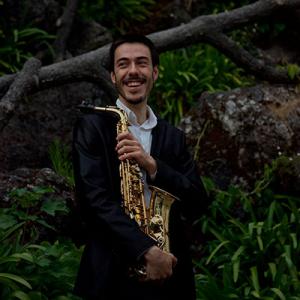 Luís Salomé, saxofonista, da Guarda