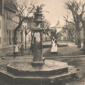 Coreto da SFUS, Largo Luís de Camões, demolido