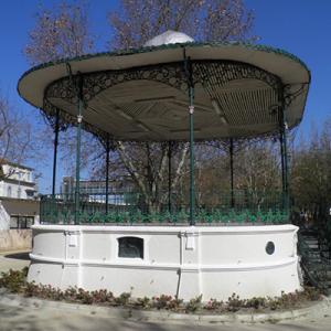 Coreto do Jardim Municipal Constantino Palha, Vila Franca de Xira, foto Jorge Nunes