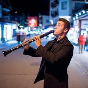 Joel Cardoso, clarinete, de Vieira do Minho, Zermatt Music Festival & Academy/Aline Fournier