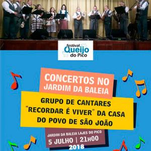 """Grupo de Cantares """"Recordar é Viver"""" da Casa de Povo de São João"""