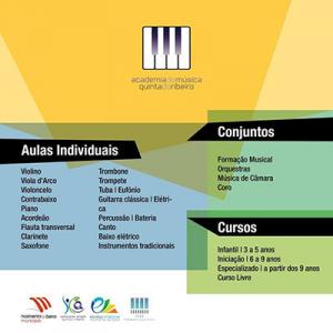 Academia de Música Quinta do Ribeiro - Moimenta da Beira